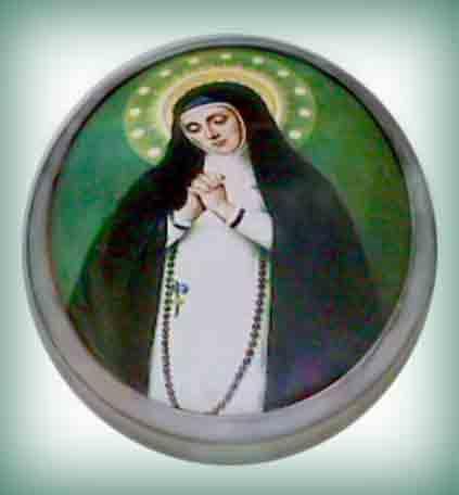Fotos esmaltadas Virgen